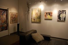 """Past Shows - Jan Brandt Gallery  Halloween show-""""Spookeh"""",curated by Danielle St. Hilaire"""