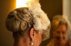 retro wedding hairstyle