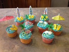 Explore Cupcakes For Boys, Luau Cupcakes, and more!