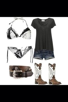Wish | Cute Sexy Country Girl Outfit Bikini