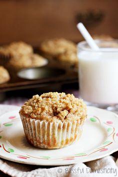 Apple Chai Coffee Cake Muffins