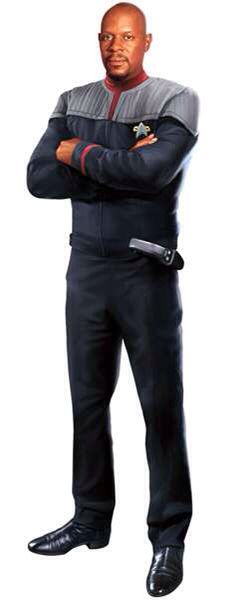 """Heroes Of Star Trek: Avery Brooks As Captain Benjamin Sisko from """"Deep Space 9"""""""