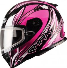 GMax FF49 Sektor Womens Sled Cold Weather Snowmobile DOT Helmets