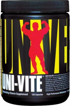 Universal Univite specially designed for elite strength athletes who require and want more. It is a comprehensive and complete multivitamin supplement which packed with over 50 potent ingredients vital for assuring optimal performance, strength, vitality and as well as virility. Uni-Vite is potent, powerful, and effective product.