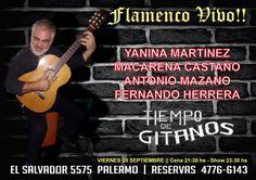 Noche de Flamenco!!! Vení a disfrutar los mejores shows en Tiempo de Gitanos!!  Reservas 4776 6143 Cena Show, Movie Posters, Movies, Flamingo, Night, Get Well Soon, 2016 Movies, Film Poster, Films