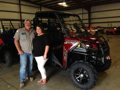 Thank you Ricky Dearman from Collins MS for getting your 2017 Polaris Ranger 1000 Ranch Edition at Hattiesburg Cycles. #polaris