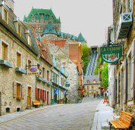 The crown jewel of French Canada, Québec City is one of North America's oldest and most magnificent settlements.