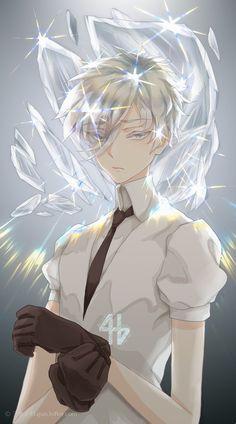 Houseki no Kuni 宝石の国 ♦ (Land of the Lustrous/ Country of Jewels) ♦ Antarcticite Manga Boy, Manga Anime, Anime Art, Evil Anime, Character Art, Character Design, Manga Pictures, Awesome Anime, Anime Guys