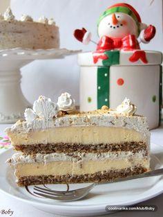 Za doček Nove 2012.godine moji ukućani i ja smo se sladili torticom napravljenom po starom receptu iz mamine sveščice. Uživajte u aromi vanile, grilijaša i oraha!