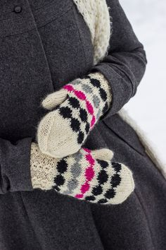 neulotut marilapaset marimekko kirjoneule marisukat khadin lankalabyrintti Wool Socks, Knitting Socks, Marimekko, Baby Knitting Patterns, Mitten Gloves, Warm Outfits, Knitting Projects, Fingerless Gloves, Arm Warmers
