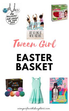 Easter basket ideas for mom basket ideas and easter baskets tween girl easter basket ideas negle