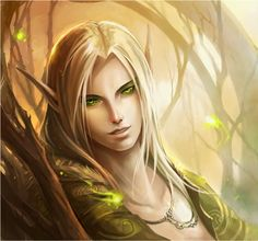 Male Elf | young for an elf gender male race elf specialty green magic and an ...