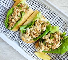 Keep the week rollin' with this no-brainer recipe using lump crab meat.  Get the recipe: Lemony Crab Rolls   - Delish.com