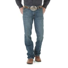 Wrangler Men's 20X Slim Jeans Cool Vantage (Size: 40x36) Blue