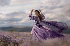 Lavender girl by Irina Dzhul on 500px