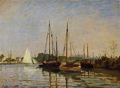 Pleasure Boats, Argenteuil, c.1872-3 (oil on canvas) - Claude Monet