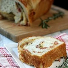 Bacon and Cheese Bread