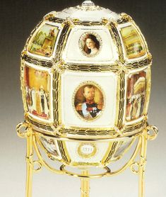 Faberge Egg - Imperial Fifteenth Anniversary