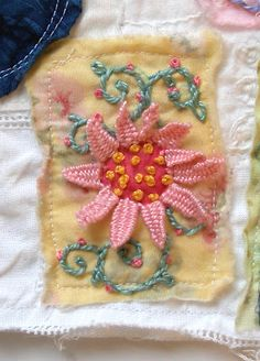 Embroidery stitch: Open Picot Stitch Tutorial-Fabulous site!