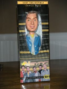 Action Figure Nsync Collectible - Lance Bass 2001