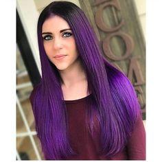 Purple Violet Beauty by @glam.mandi
