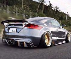 Audi TT #audi #tt #stanced