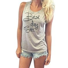 1b52b8d721805 Goodtrade8 GOTD Women Loose Crew-Neck Cotton Casual Blouse Tops Tee T-Shirt  at Amazon Women s Clothing store