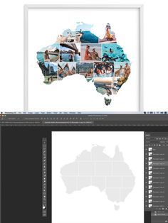 Add Image, Photo Collage Template, Australia Photos, Stationery Templates, Photoshop, Art, Art Background, Kunst, Performing Arts