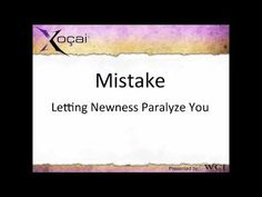 Avoid Making common Mistakes in NM.  Xocai, Adam Paul Green, Healthy chocolate, artisan chocolate, MXI corp, MLM, dark chocolate, antioxidants, youtube,