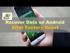 How to Recover Data on Android after Factory Reset? - YouTube