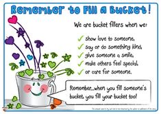 Teacher's Pet - Have You Filled a Bucket Today? Posters - FREE Classroom Display Resource - EYFS, KS1, KS2, bucket, fillers, PSHE, SEAL, relationships, bullying, getting, on, falling