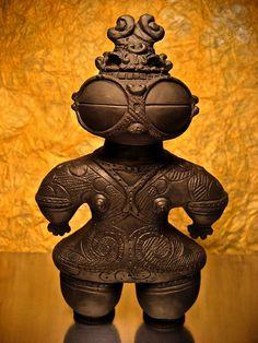 Japanese clay doll from Jomon era (145 B.C.)