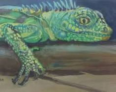 Image Result For Iguana Paintings