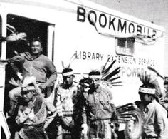Arizona State Library Extension Service bookmobile, 1971.
