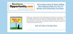 Browse our newest group of #businessopportunities here in one place. http://www.businessopportunity.com/new-listings/ #businessopportunity