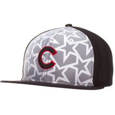 Chicago Cubs Navy and White 2016 On-Field Fourth of July Flat Bill Fitted  Hat by New Era e6cc38fe5fe