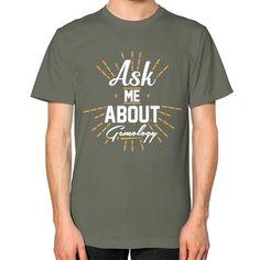 """Ask Me About Gemology"" Unisex T-Shirt"