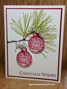 Klompen Stampers (Stampin' Up! Demonstrator Jackie Bolhuis): Are You Ready For Christmas