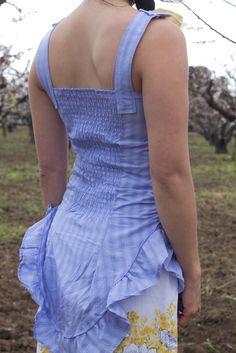 It's always tea time: Men's Shirt Refashon 1: Summertime Dress (Part One – The Dress)