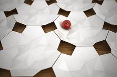 Bom dia! Hoje com o design incrível desse jogo de porcelana da designer Svetlana Kozhenov. A forma de cada elemento é derivado a partir da geometria do anterior. svetlanakozhenov.com/ #prcelain #design #arte #designinteriores