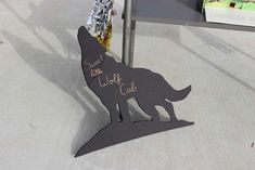 wolf themed baby party | CatchMyParty.com