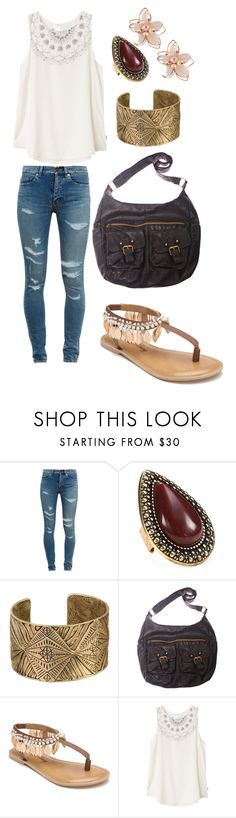 """Shopping Day"" by abrown0990 on Polyvore featuring Yves Saint Laurent, Samantha Wills, Wet Seal, Penny Loves Kenny, RVCA and NAKAMOL"