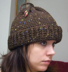 Free Convertable Hat *Pattern Included* - CROCHET It's a hat, ponytail hat, slouchy and cowl all in one.