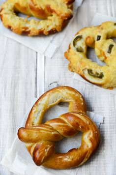 I love soft pretzels and this recipe does not look hard to make. From My Lemony Kitchen ....: Alton Browns Soft Pretzel