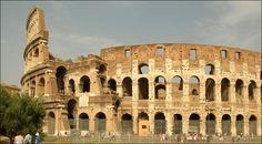 Le colisé de Rome - une des 7 merveilles du monde désignées en 2007.