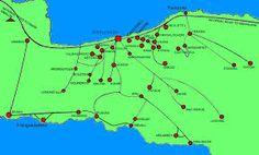 Map of Crete, showing Armeni - Google Search Crete, Line Chart, Diagram, Map, Google Search, Location Map, Peta, Maps