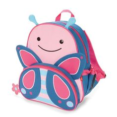 Skip Hop Zoo Backpack, Pink Butterfly Skip Hop http://www.amazon.com/dp/B00H2CRNVI/ref=cm_sw_r_pi_dp_ZH.Xub1X8Y7BJ