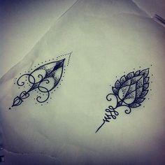 Minimalist Geometric Tattoos   (taken With Instagram At True Love Tattoo)
