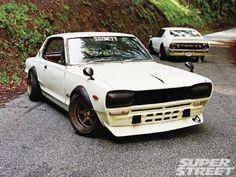 1974 Nissan Skyline 2000 GT-X and 1972 Nissan Skyline 2000 GT