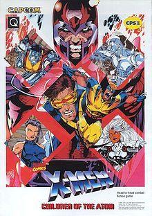 X-Men: Children of the Atom (Capcom), arcade, wii U Virtual Console;
